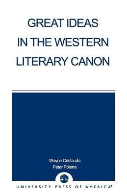 Great Ideas in the Western Literary Canon