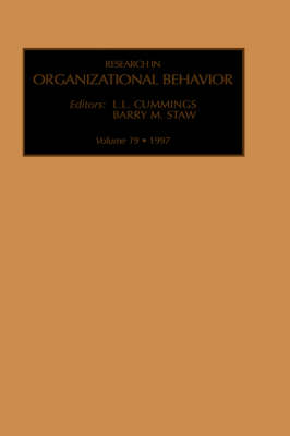 Research in Organizational Behavior: Volume 19