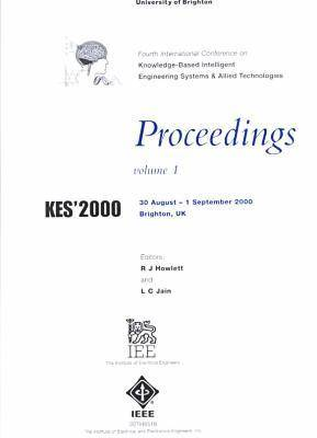 2000 Knowledge-Based Intellgnt Elect Sys 3rd Conf