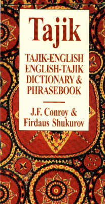 Tajik-English / English-Tajik Dictionary & Phrasebook