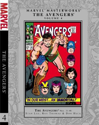 Marvel Masterworks: Volume 4: Marvel Masterworks: The Avengers, Volume 4 Avengers