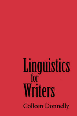 Linguistics for Writers