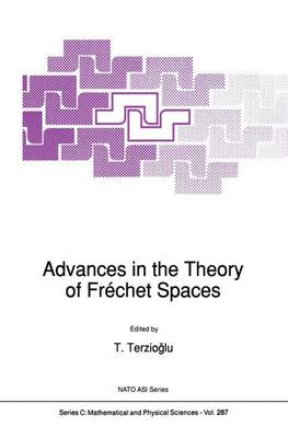 Advances in the Theory of Frechet Spaces