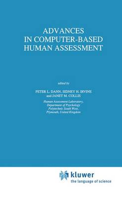 Advances in Computer-Based Human Assessment