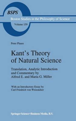 Kant's Theory of Natural Science