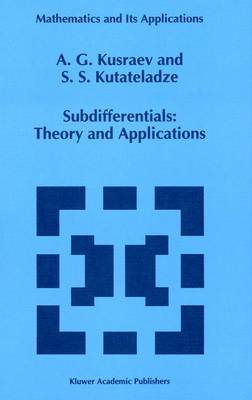 Subdifferentials: Theory and Applications
