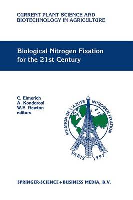Biological Nitrogen Fixation for the 21st Century: Proceedings of the 11th International Congress on Nitrogen Fixation, Institut Pasteur, Paris, France, July 20-25 1997