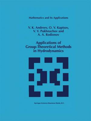 Applications of Group-Theoretical Methods in Hydrodynamics