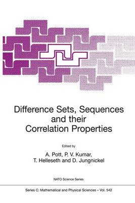 Difference Sets, Sequences and their Correlation Properties