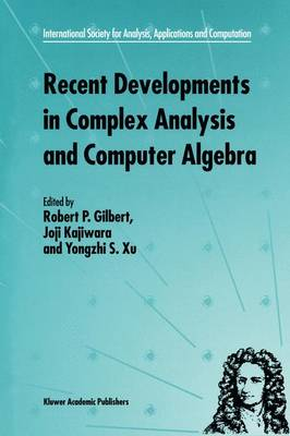 Recent Developments in Complex Analysis and Computer Algebra: This conference was supported by the National Science Foundation through Grant INT-9603029 and the Japan Society for the Promotion of Science through Grant MTCS-134