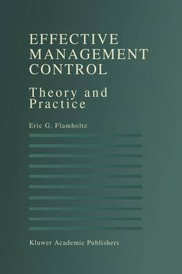Effective Management Control: Theory and Practice