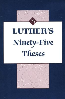 Luthers's Ninety-Five Theses