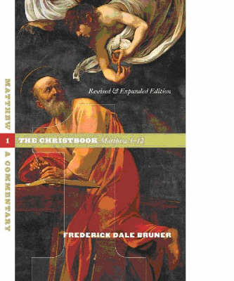 Matthew: A Commentary: v. 1: Christbook, Matthew 1-12