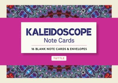 Kaleidoscope Note Cards: 16 Different Blank Cards & 17 Envelopes