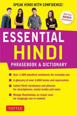 Essential Hindi Phrasebook & Dictionary: Speak Hindi with Confidence! (Revised Edition)