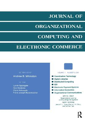 Organizational Learning and Knowledge Management: A Special Issue of the journal of Organizational Computing and Electronic Commerce