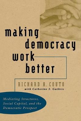 Making Democracy Work Better: Mediating Structures, Social Capital, and the Democratic Prospect