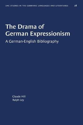 The Drama of German Expressionism: A German-English Bibliography