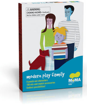 Modern Play Family: Create One-of-a-Kind Characters with over 150 Clothing, Hairstyle, and Accessory Options!
