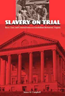 Slavery on Trial: Race, Class, and Criminal Justice in Antebellum Richmond, Virginia