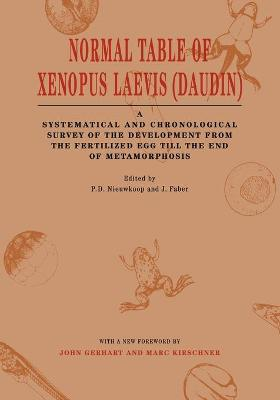 Normal Table of Xenopus Laevis (Daudin): A Systematical & Chronological Survey of the Development from the Fertilized Egg till the End of Metamorphosis