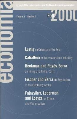 Economia: Fall 2000: Journal of the Latin American and Caribbean Economic Assocation