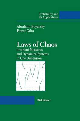 Laws of Chaos: Invariant Measures and Dynamical Systems in One Dimension