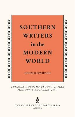 Southern Writers in the Modern World