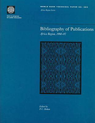 Bibliography of Publications: Africa Region, 1990-97