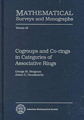 Cogroups and Co-rings in Categories of Associative Rings