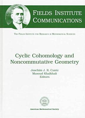 Cyclic Cohomology and Noncommutative Geometry