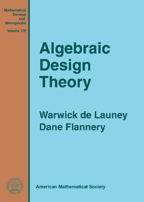 Algebraic Design Theory