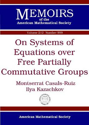 On Systems of Equations over Free Partially Commutative Groups