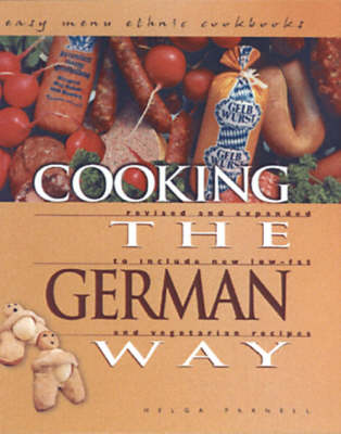 Cooking The German Way: Easy Menu Ethnic Cookbooks