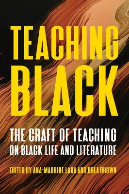Teaching Black: Pedagogy, Practice, and Perspectives on Writing