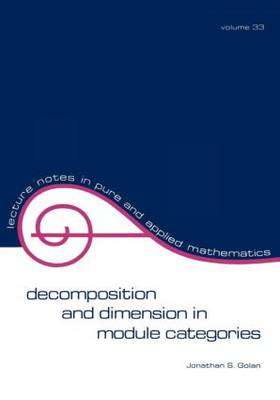 Decomposition and Dimension in Module Categories