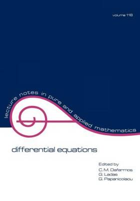 Differential Equations: Proceedings of the 1987 Equadiff Conference