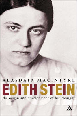 Edith Stein: The Philosophical Background