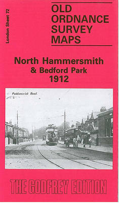 North Hammersmith and Bedford Park 1912: London Sheet 072.3