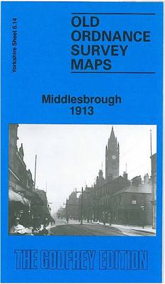 Central Middlesbrough 1913: Yorkshire Sheet 6.14