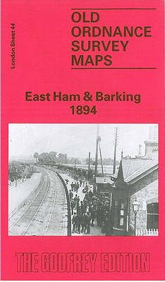 East Ham and Barking 1894: London Sheet 044.2