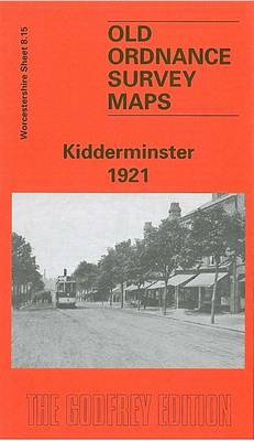 Kidderminster 1921: Worcestershire Sheet 8.15