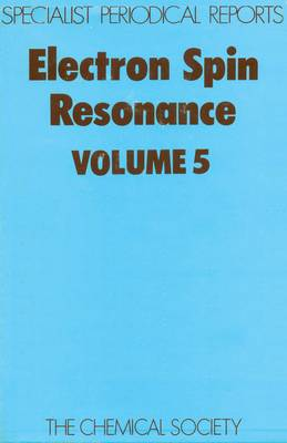 Electron Spin Resonance Vol 6