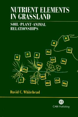 Nutrient Elements in Grassland: Soil-Plant-Animal Relationships