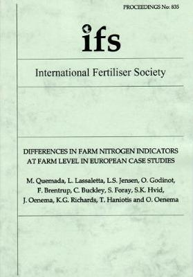 Differences in Farm Nitrogen Indicators at Farm Level in European Case Studies