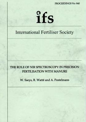 The Role of NIR Spectroscopy in Precision Fertilisation with Manure