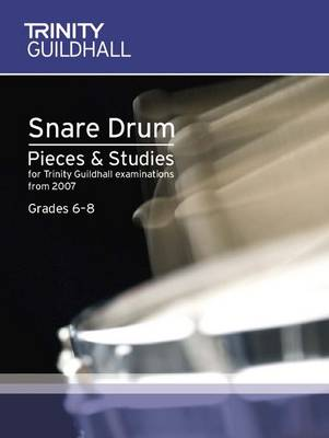 Percussion Exam Pieces & Studies Snare Drum Book 2: Grades 6-8