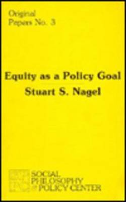 Equity as a Policy Goal
