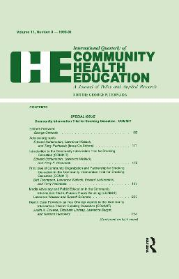 Community Intervention Trial for Smoking Cessation: Commit