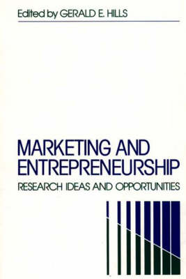 Marketing and Entrepreneurship: Research Ideas and Opportunities